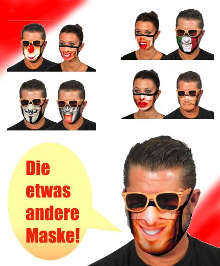 Lustige Masken von ITATI